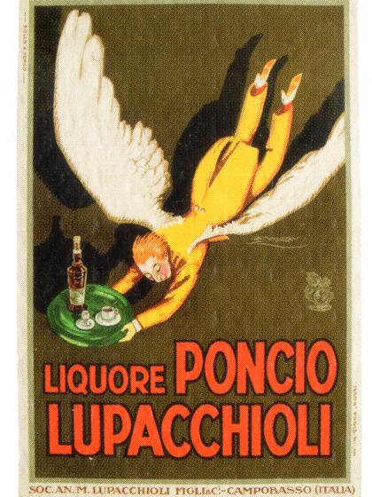 Poncio Lupacchioli antica pubblicità