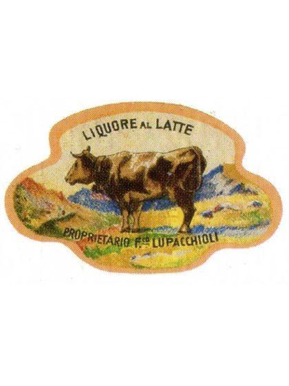 Etichetta storica Crema Milk