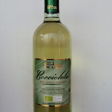 Vino Bianco Gocciolete biologico De Lisio