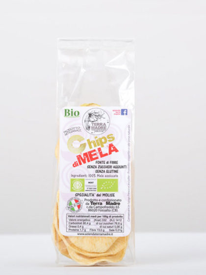 chips mela Bio Terra Madre