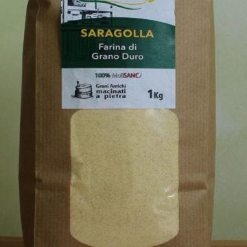farina di grano duro Saragolla