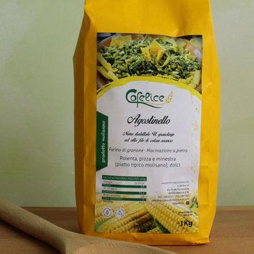 farina mais Agostinello antica varietà di granone