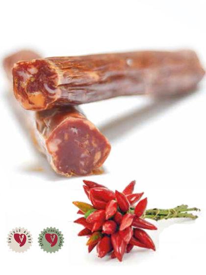Salsiccia artigianale piccante Luisi