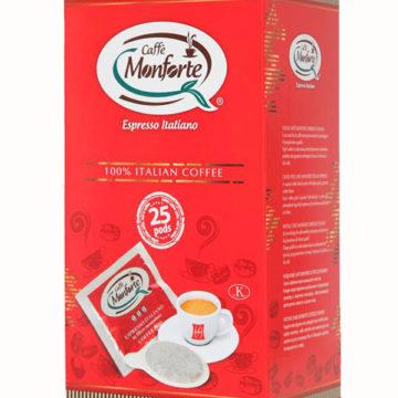 Caffè espresso in cialde Monforte
