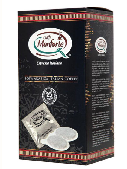 Caffè Espresso in cialde 100% Arabica