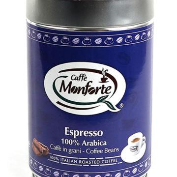 caffè espresso Monforte 100% arabica in grani