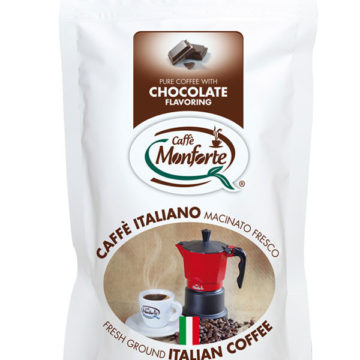 caffè Monforte macinato fresco aroma cioccolato