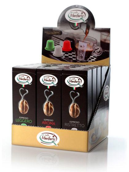 Caffè Espresso Monforte capsule Compatibili Nespresso