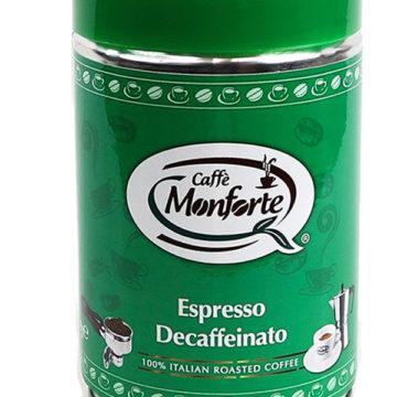 espresso decaffeinato Monforte